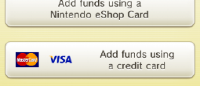 Nintendo Switch and your Credit Card Info