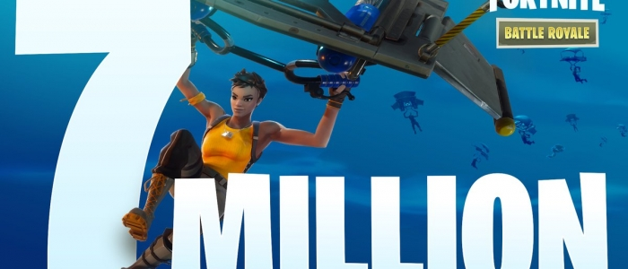 Fortnite reaches 7 million players