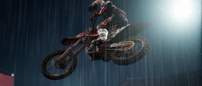 An Official Supercross video game