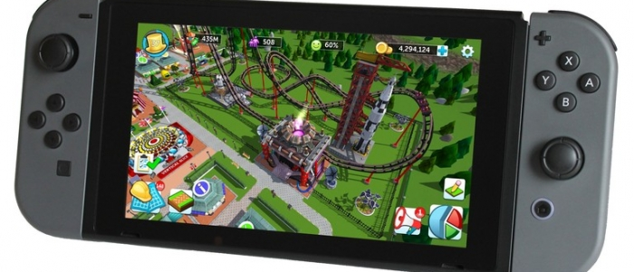 Atari wants RollerCoaster Tycoon for the Switch to be crowdfunded