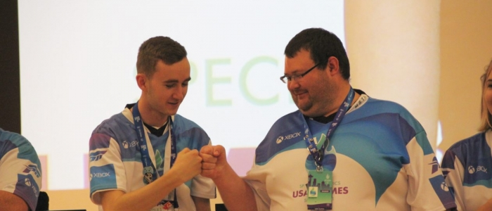 Gaming comes to the Special Olympics